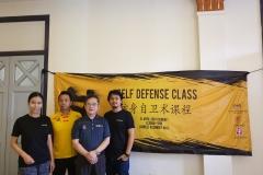 Chui Eng (Chiobabes), Alvin Chong, Mr. Wong (Wushu Malaysia), Wilfred (AXB & Warriors.asia)