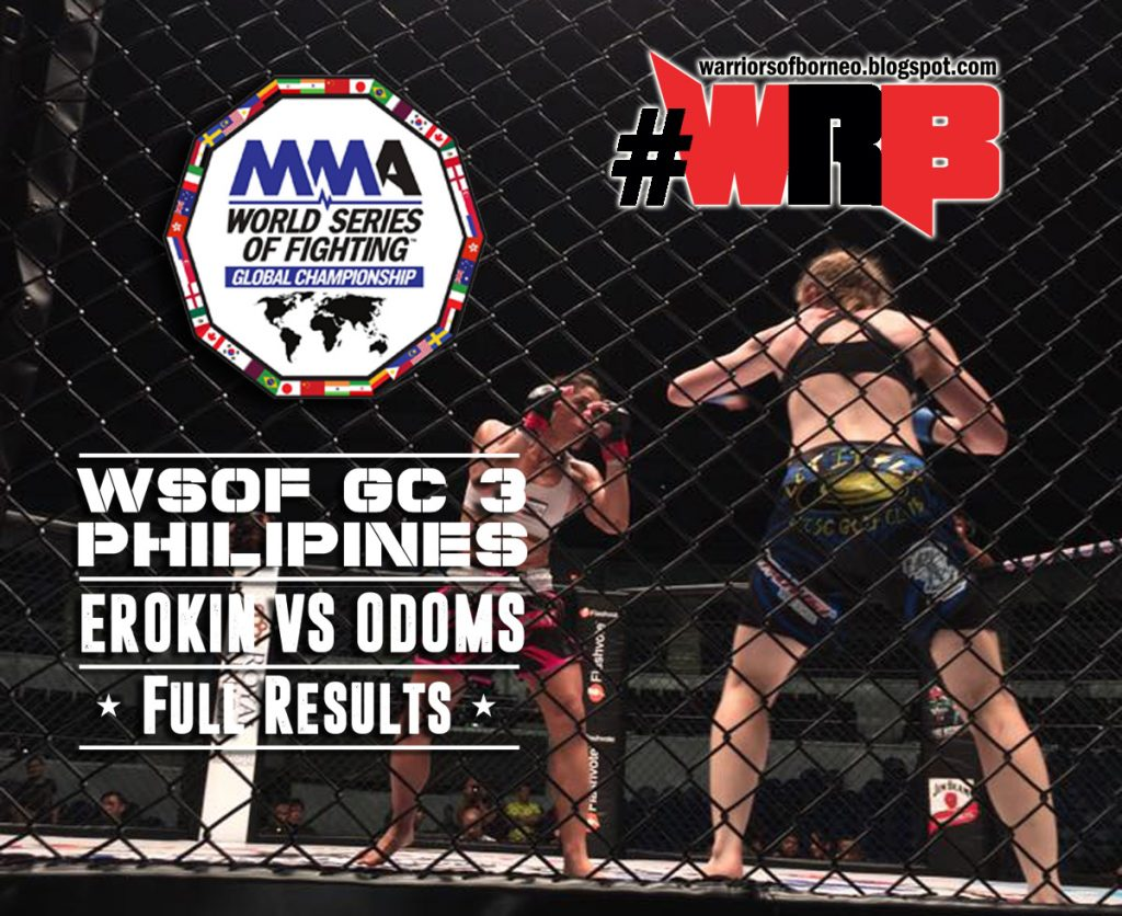 WSOF – GC 3 Full Results (Offi...