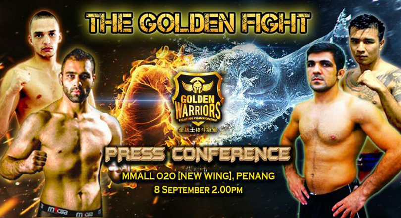 GWFC 2 : Night of the Golden Fight | Warriors asia
