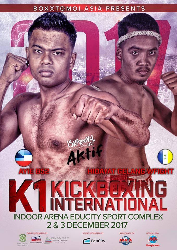 Boxxtomoi Iskarnival K1 International Kickboxing | Warriors asia